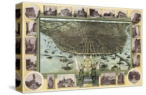 Saint Louis, Missouri in 1896 by Graf