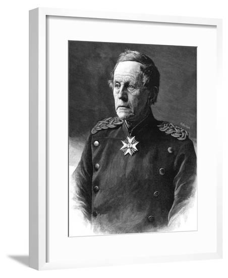 Graf Von Moltke 1890--Framed Giclee Print
