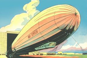 Graf Zeppelin at the Hangar