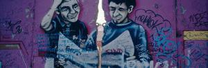 Graffiti on a Wall, Berlin Wall, Berlin, Germany