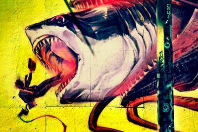Graffiti Shark 5 Pointz New York City