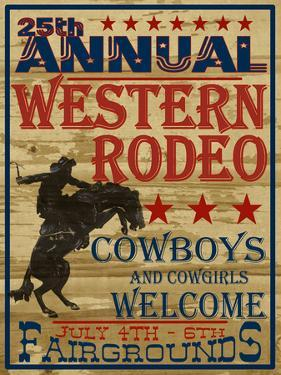 25Th Annual Western Rodeo by Grafittee Studios