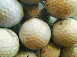 Golf Balls by Grafittee Studios