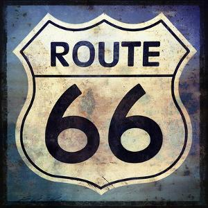Route 66 sign by Grafittee Studios