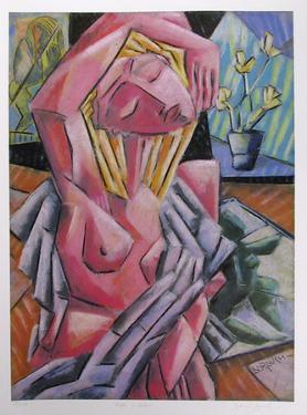 Nude in Studio by Graham Borough
