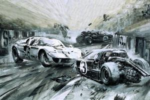 The Le Mans Race in 1967 by Graham Coton