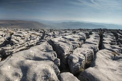 A Limestone Pavement with well developed Clints and Grykes, Austwick, Yorkshire, UK