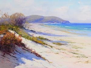 Port Stephans Beach Sands by Graham Gercken