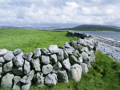 Dry Stone Wall, County Clare, Munster, Eire (Republic of Ireland)