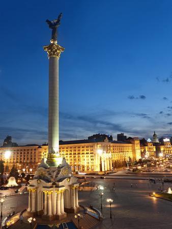 Independence Square, Maidan, Kiev, Ukraine, Europe