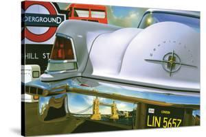 Lincoln Continental '56 in London by Graham Reynold