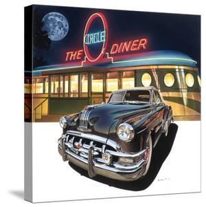 Pontiac Chieftain '50 at The Circle Diner by Graham Reynold