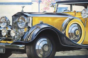 1934 Rolls Royce Phantom II by Graham Reynolds