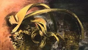 'Devastation, 1941, City. Twisted Girders (1)', 1941 by Graham Sutherland