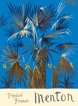 Menton - Tropical France - Palm Tree by Graham Sutherland