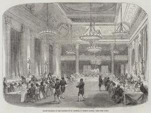 Grand Banquet to the Knights of St Patrick, in Dublin Castle