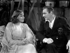 GRAND HOTEL, 1932 directed by EDMUND GOULDING Greta Garbo / John Barrymore (b/w photo)