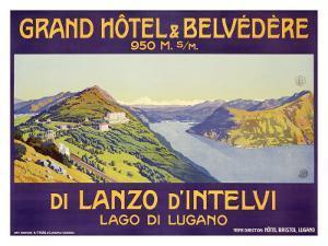 Grand Hotel and Belvedere, Lanzo d'Intelvi