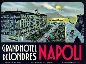 Grand Hotel De Londres, Napoli