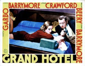 Grand Hotel, from Left, Joan Crawford, Wallace Beery, 1932