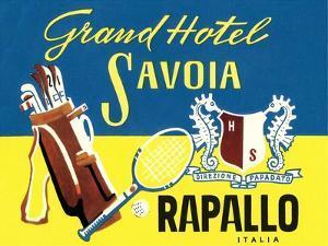 Grand Hotel Savoia, Rapallo, Italy