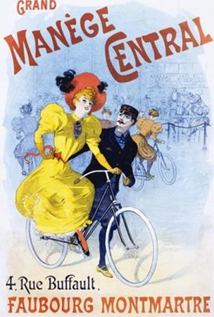 Grand Manege Central Advertisement Poster