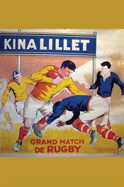 Grand Match De Rugby