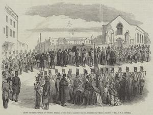 Grand Military Funeral of Colonel Swales, at the Royal Garrison Chapel, Portsmouth