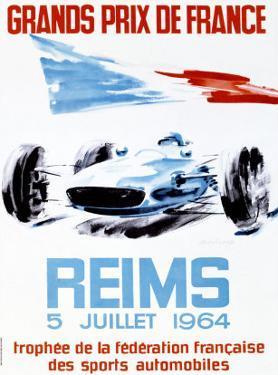 Grand Prix de France, Reims, 1964