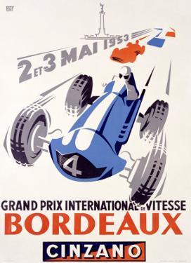 Grand Prix International de Vitesse, Bordeaux