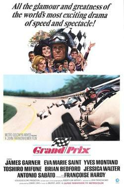 Grand Prix, James Garner, Eva Marie Saint, 1966