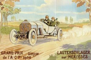 Grand-Prix: Lautenschlager Sur Mercedes