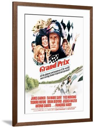 Grand Prix--Framed Poster