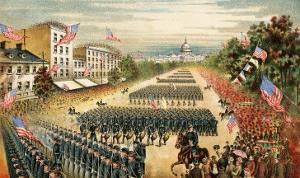 Grand Review of Armies at End of Civil War, Pennsylvania Avenue, Washington D.C., c.1865