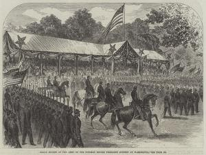 Grand Review of the Army of the Potomac before President Johnson at Washington