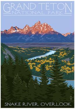 Grand Teton National Park - Snake River Overlook