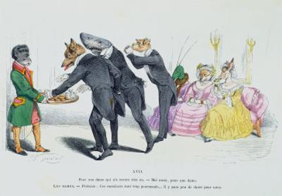 These Gentlemen Are So Greedy, Les Metamorphoses du Jour