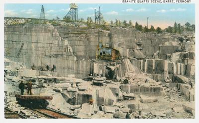 Granite Quarry, Barre Vermont