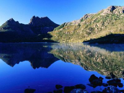 Cradle Mountain and Lake Dove, Cradle Mountain-Lake St. Clair National Park, Tasmania, Australia