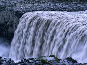 Dettifoss Waterfall, Jokulsarglufur National Park, Nordurland Eystra, Iceland by Grant Dixon