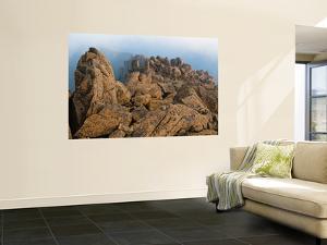 Dolerite Boulder Ridge on Mt Ossa by Grant Dixon