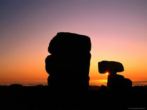 Granite Tors at Sunrise at Ramshead Range, Kosciuszko National Park, New South Wales, Australia by Grant Dixon