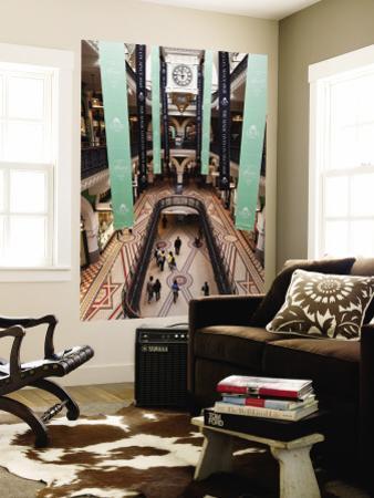 Interior of Queen Victoria Shopping Centre
