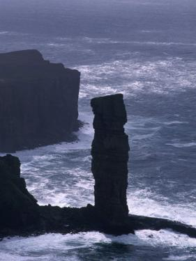 Old Man of Hoy Sandstone Stack (130M Tall), Hoy, Orkney Islands, Scotland by Grant Dixon