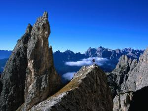 Pinnacle on Southern Spur of Monte Propera, Dolomiti Di Sesto Natural Park,Italy by Grant Dixon
