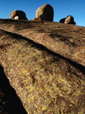 Rock Face and Boulders, Matobo National Park, Matabeleland South, Zimbabwe by Grant Dixon