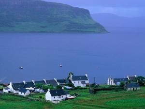 Small West Coast Village, Isle of Skye, Scotland by Grant Dixon
