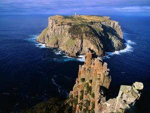 Tasman Island from Cape Pillar in Tasman National Park, Tasman Peninsula, Tasmania, Australia by Grant Dixon