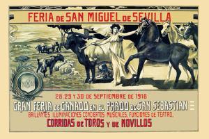 Sevilla Feria de San Miguel by Grant Hamilton