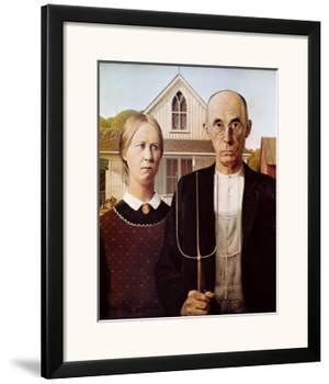 American Gothic, 1930 by Grant Wood